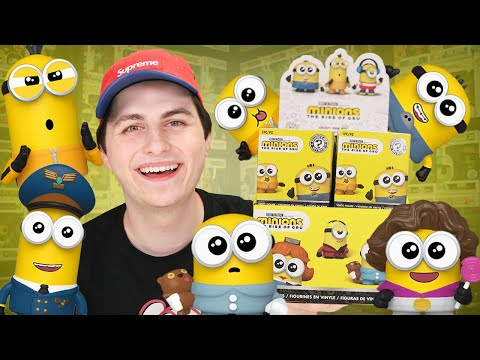 Unboxing A  CASE of Minions Funko Mystery Minis