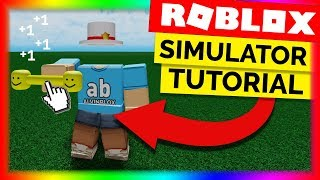 How To Make A Simulator Game On Roblox - Part 1