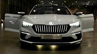 Skoda Vision RS | Al volante della Concept Car che anticipa la seg. C SCALA thumbnail