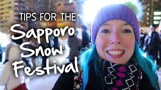 ❄️ Tips for the Sapporo Snow Festival ❄️