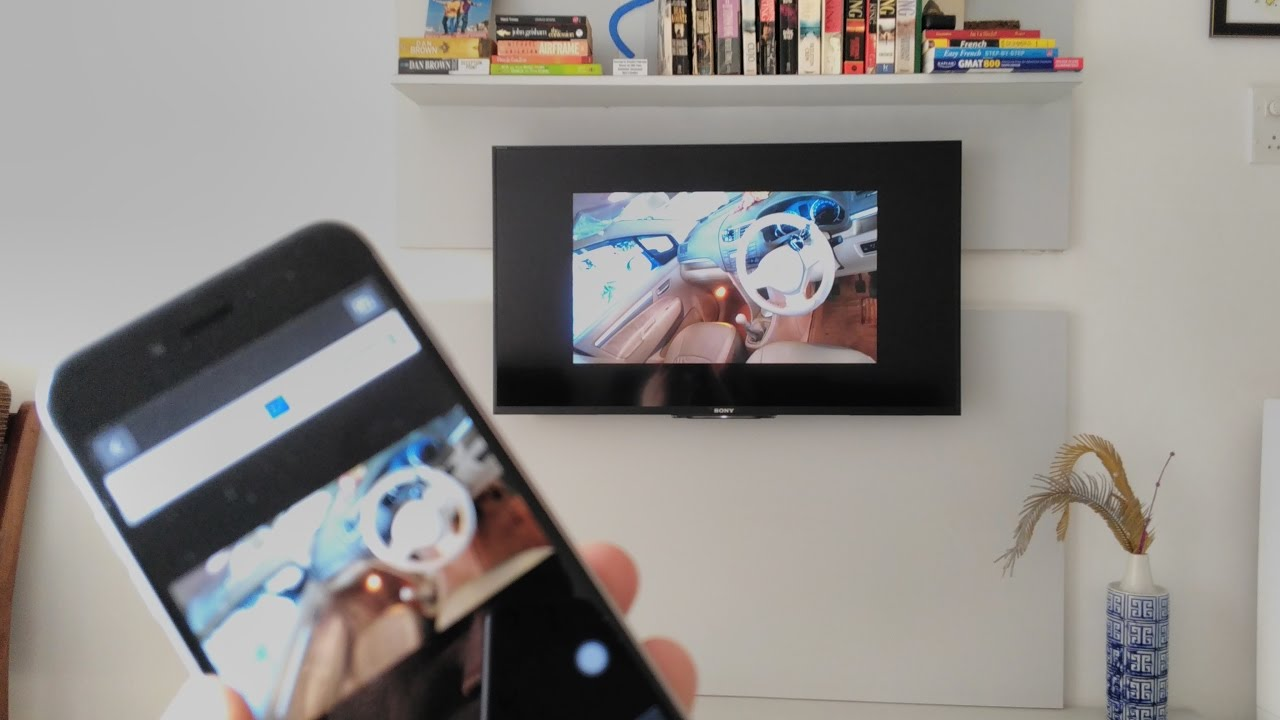 mirror iphone on chromecast how to mirror screencast iphone to a smart tv using 15691
