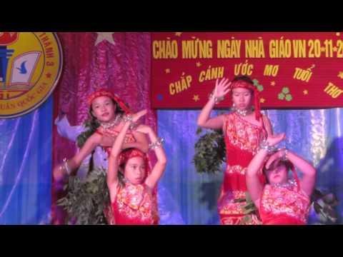 Tiết mục múa - Cô giáo em là Hoa eban - 5A trường TH Phan Rí Thành 3