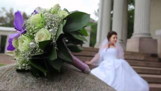 Свадебная прогулка в усадьбе Архангельское, молодые зажигают. Грибы вместо букета..mpg