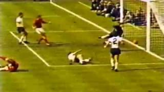 World Cup 1966 - Geoff Hurst's Controversial Goal in Color
