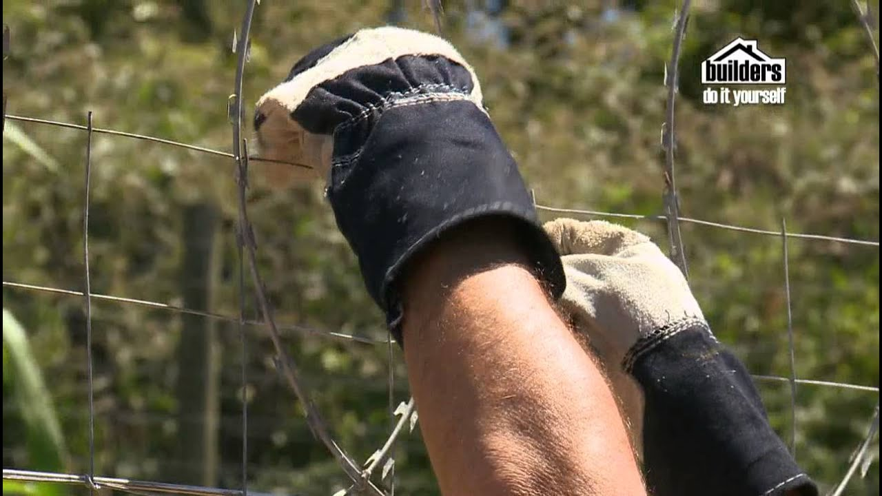 Builders DIY: Home Security - Adding Barbed Wire to your Fence - YouTube