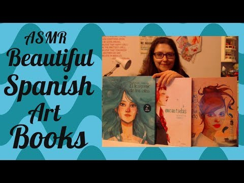 ASMR Beautiful Spanish Art Books