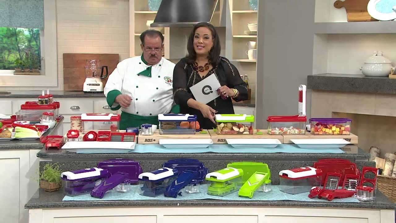 genius nicer dicer fusion 10 pc 10 cup multi chopper set with leah williams youtube. Black Bedroom Furniture Sets. Home Design Ideas