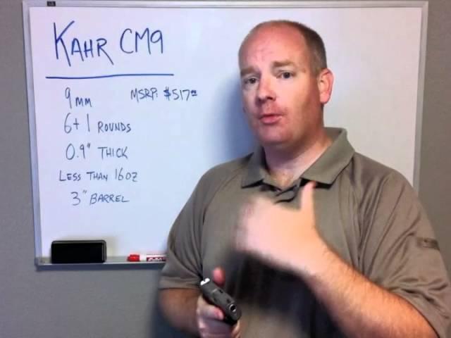 Gun Test: Kahr CM9 with Video | The Daily Caller