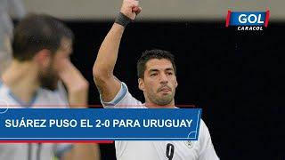 Gol de Luis Suárez, hoy Colombia vs Uruguay, por Eliminatorias Sudamericanas