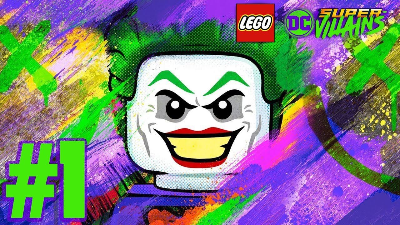 Lego DC Super Villains : Part 1 ว้ายร้ายคนใหม่