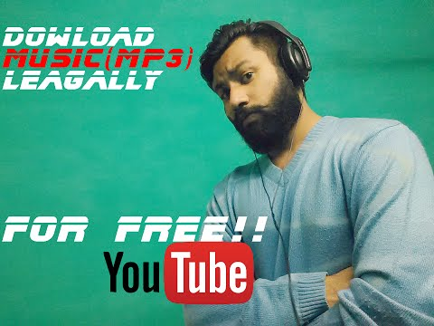 How To Download Songs (mp3) For FREE!!    Legally