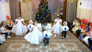 Танец снежных хлопьев и снежинок. Новогодние танцы