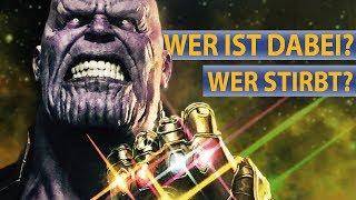 Avengers: Infinity War - Wer ist mit dabei? Wer wird sterben?