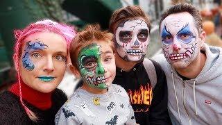 MAQUILLAGES HALLOWEEN EN FAMILLE - Monstre, Clown tueur, Squelette...