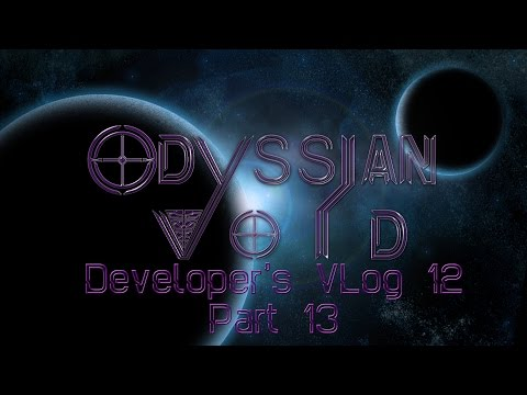 Odyssian Void Developer's VLog 12 Part 13: Coding/Graphics Work