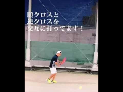 順クロスと逆クロスの件 by パーソナルテニス