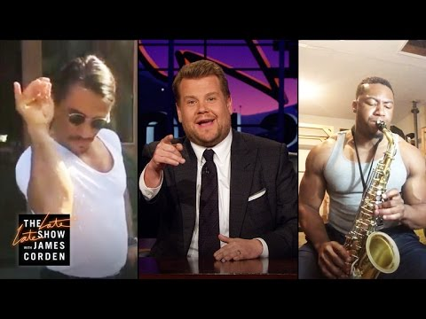 James Corden Has a Love Triangle: Salt Bae v. Sax Bae