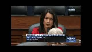 US-Abgeordnete Gabbard fragt Pentagon-Chef Mattis: Können Sie einen Militärschlag verantworten?