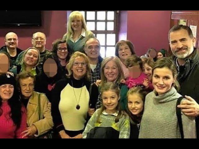La escapada de fin de semana de los Reyes y sus hijas