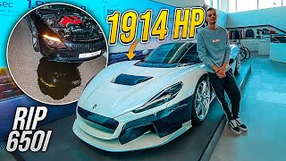 RIMAC C_Two 1914 HP! | BMW 650i RIP :(