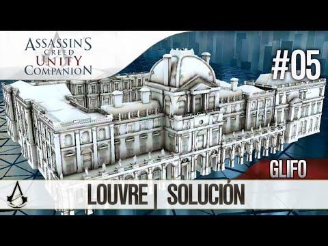 Assassin's Creed Unity Companion APP   Guía Localización Glifos   Louvre   Solución