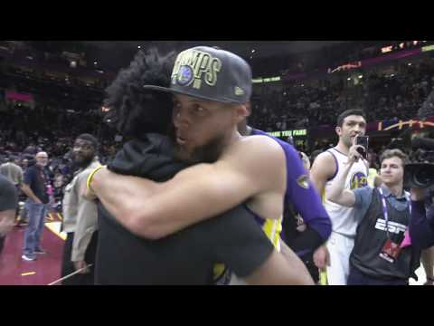 Stephen Curry's Best Access | 2018 NBA Finals Celebration