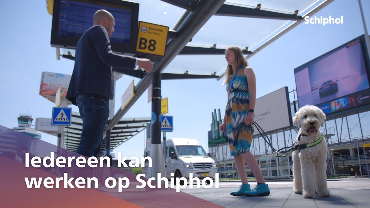Iedereen kan werken op Schiphol