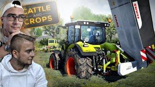 Realistyczna Trawa? hmm? ㋡ Sianokosy 2018 ☆ Cattle and Crops ✔ MafiaSolec & Bronczek