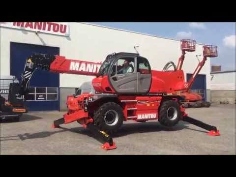 The new Manitou MRT 2550 with Roforks