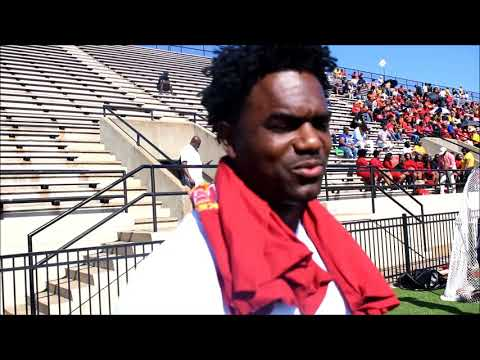 Edgerrin James cheers nephew from Tuskegee University