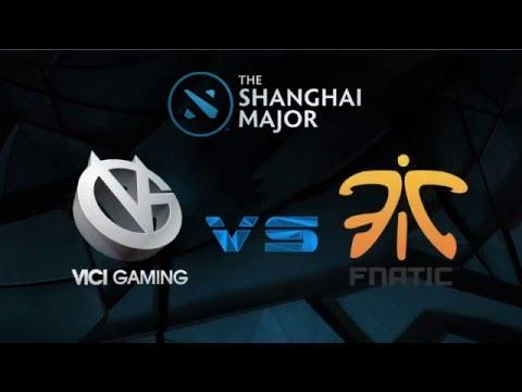 The Shanghai Major, Fnatic vs Vici Gaming Highlights