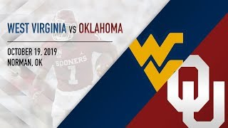OU Highlights vs West Virginia (10/19/2019)