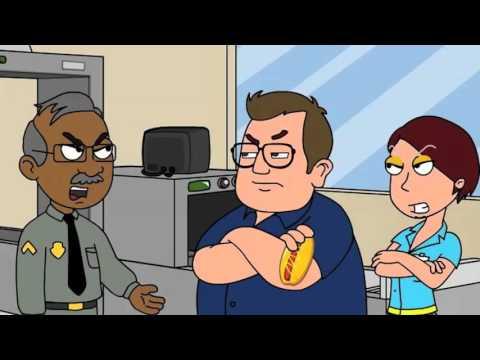 Martin Show: Otis the Guard Spoof (CARTOON by @PAULMOONEYJR)