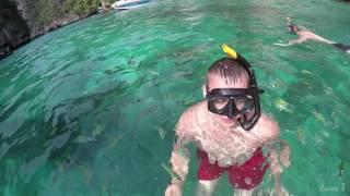 Snorkeling in Loh Samah Bay