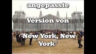 "Berlin, Berlin (Frank Sinatra Cover von ""New York, New York"")"