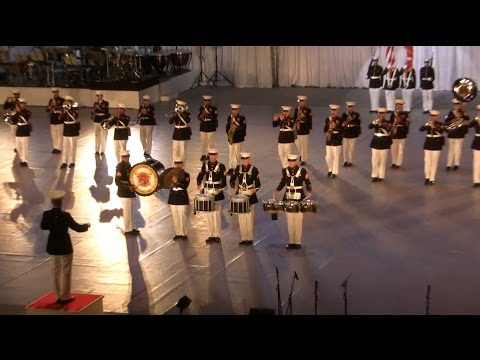 US Marines Band at JSDF Marching Festival 2014 自衛隊音楽まつり