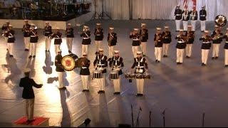 US Marines Band at JSDF Marching Festival 2014 自衛隊音楽まつり