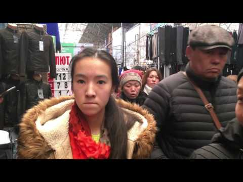 ► Walkaround  in Bazar Dordoi Bishkek - Central Asias Biggest Bazar