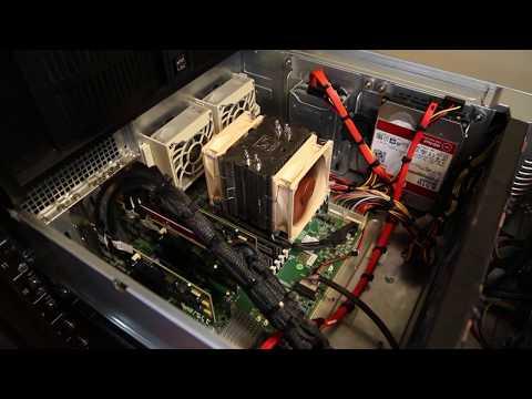 Making a quiet Supermicro SC846 - 100 TB file server