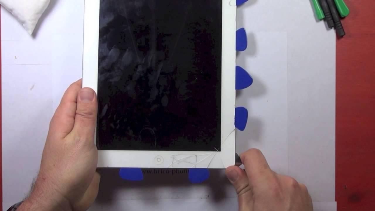 Tutoriel Changement Vitre Tactile Casee Ipad 3 Et 4 Nouvel Ipad