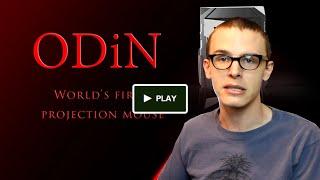 Kickstarter Cool - ODiN World's first projection mouse