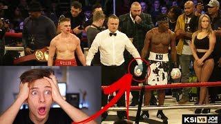 KSI VS JOE WELLER BOXING FULL FIGHT HIGHLIGHTS *LIVE REACTION* GeorgeMasonTV