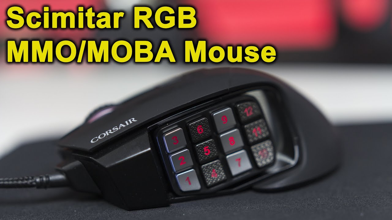 best gaming mice for moba