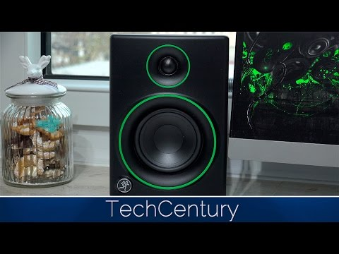 Mackie CR4 Multimedia Monitor Speakers Full Review in 4K
