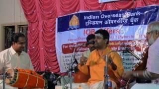 Shenkottai Harihara Subramaniam, Carnatic vocalist, Performance