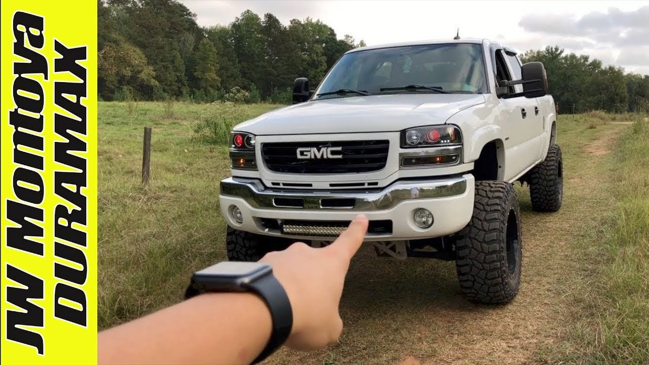 Lifted Lly Duramax Full Walk Around 7 Mcgaughys 37s Youtube Fuel Filter For 6