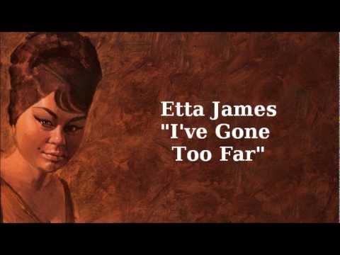 Клип Etta James - I've Gone Too Far