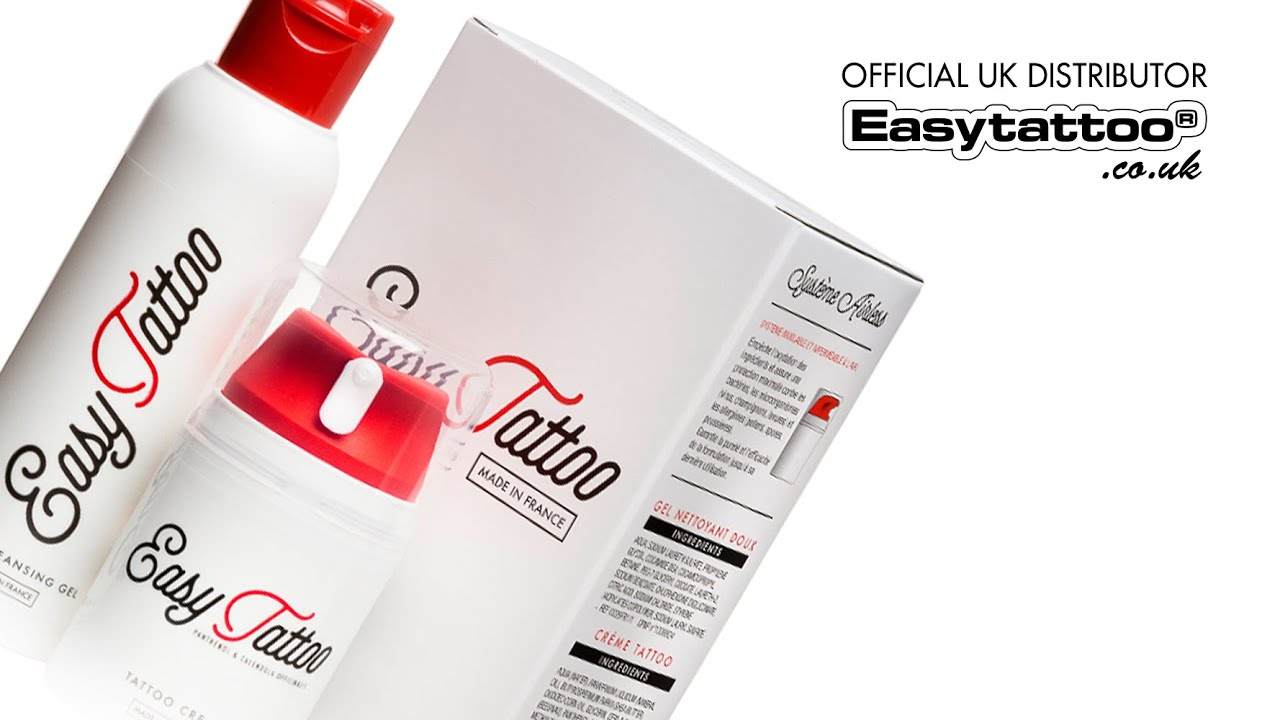 Easytattoo tattoo aftercare kit easytattoo uk youtube for Skinlock tattoo aftercare uk