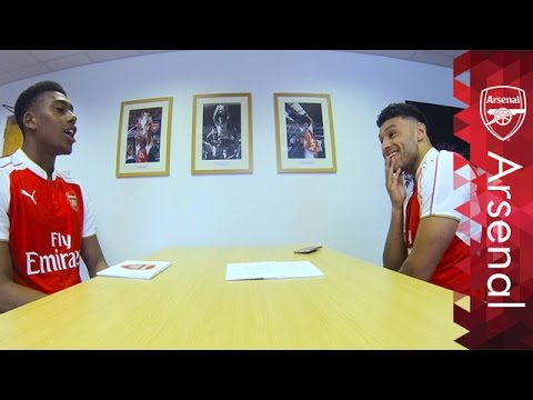 The funniest Rapid Fire yet! | Alex Oxlade-Chamberlain and Alex Iwobi