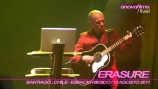 ERASURE / Sometimes / 13 Agosto 2011, Chile [HD-1080i]